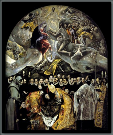 EL ENTIERRO DEL CONDE ORGAZ – Doménikos Theotokópoulos – El Greco-